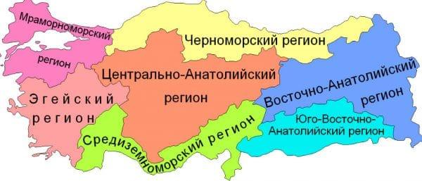 Районы Турции