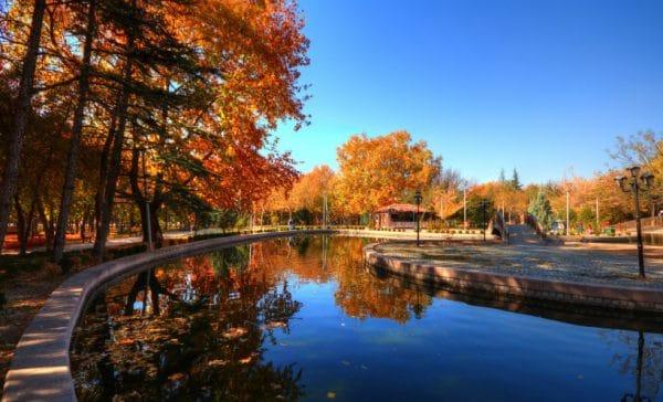Осень в Анкаре