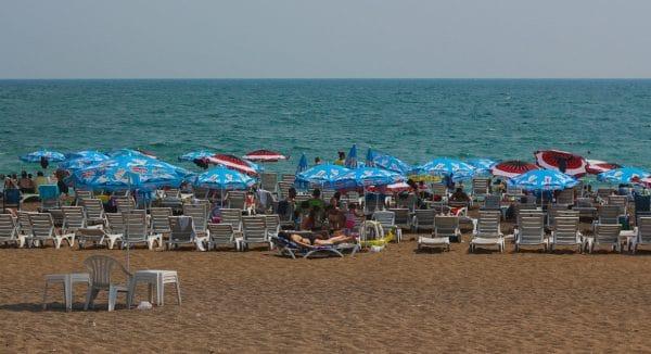 Пляж «Лара» Турция