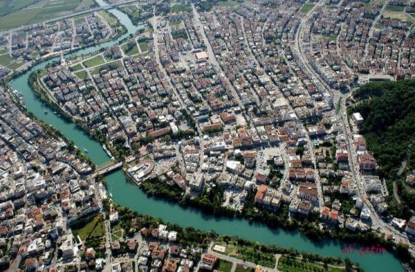 Город Манавгат - Сиде, Турция