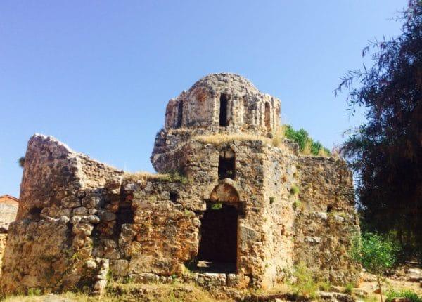 Византийская крепость «Ичкале»