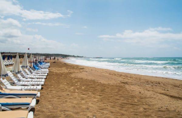 Пляжи в Сиде