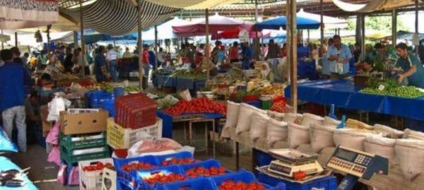 Рынок в Текирова