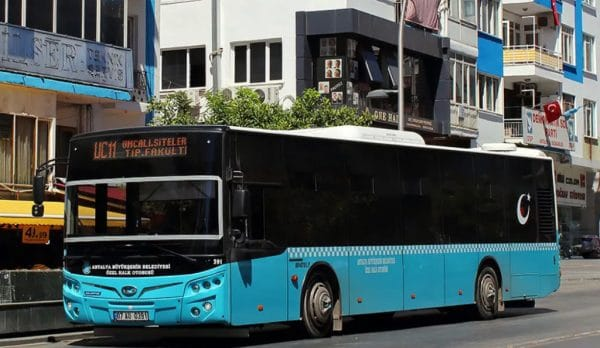Автобусы вАнталии