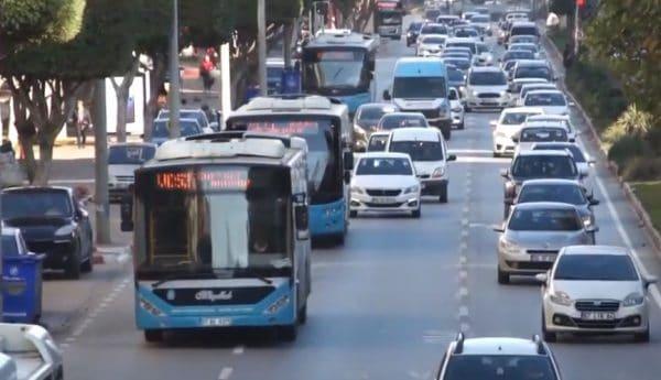 Нумерация автобусов в Анталии