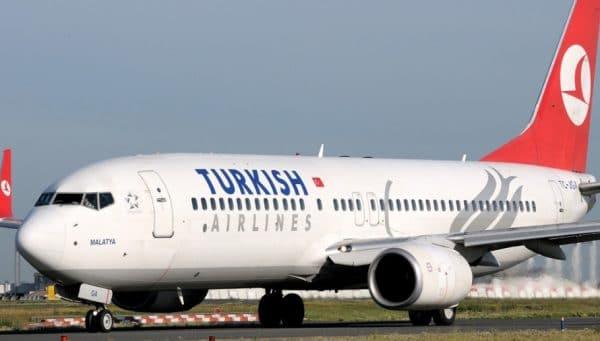 Между всеми крупными городами регулярные авиаперевозки осуществляет компания «Турецкие авиалинии» (Turkish Airlines)