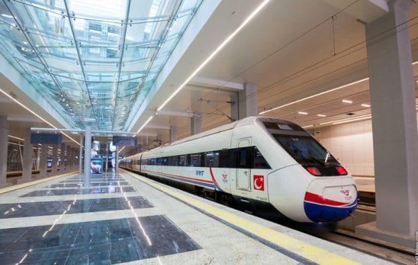 Железнодорожный транспорт в Турции