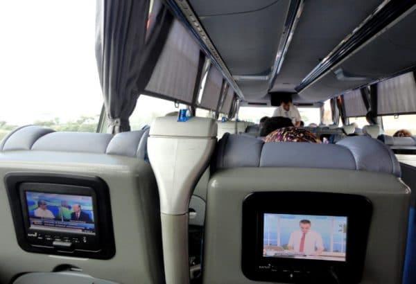 А ездить на междугородних автобусах в Турции – настоящее удовольствие