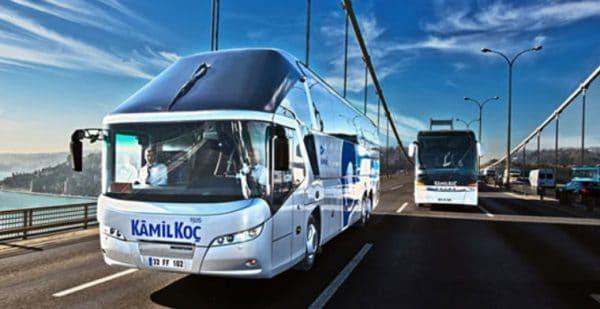 Основные крупные автобусные перевозчики в Турции