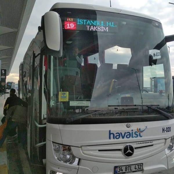 Как добраться из/в нового аэропорта до площади Таксим