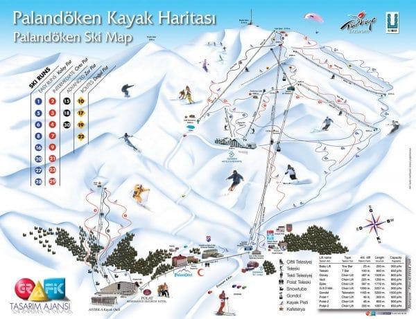 Горнолыжный курорт в Турции Паландокен
