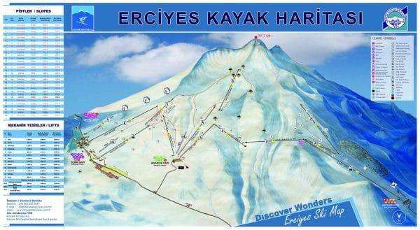 Эрджиес карта