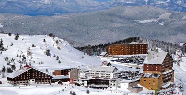 Основные горнолыжные курорты