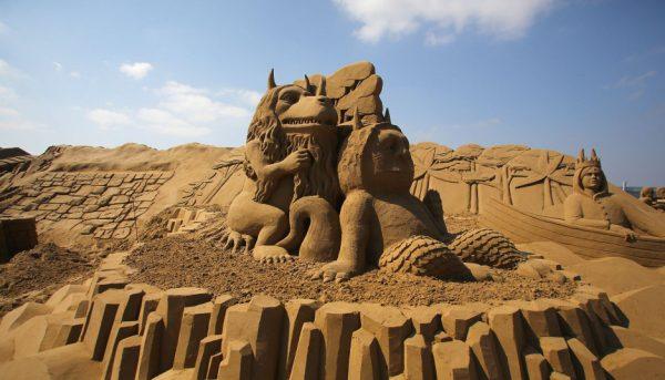 Фестиваль песчаных фигур Sandland