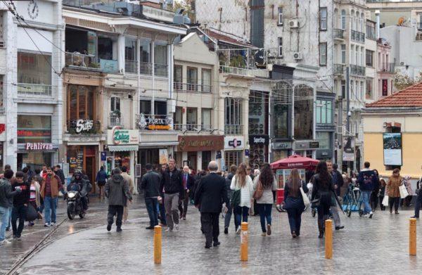 Стамбул ноябрь