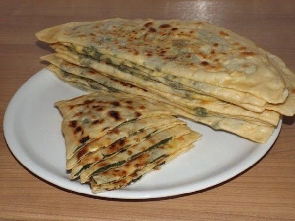 Лепешка турецкая с сыром: ингредиенты на 6 порций