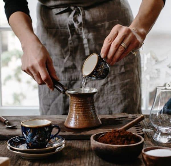 Как готовить турецкий кофе