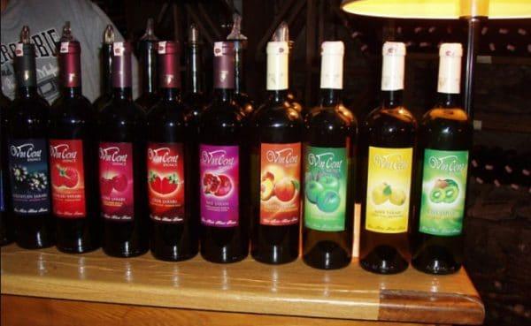 Другие популярные фруктовые вина Турции