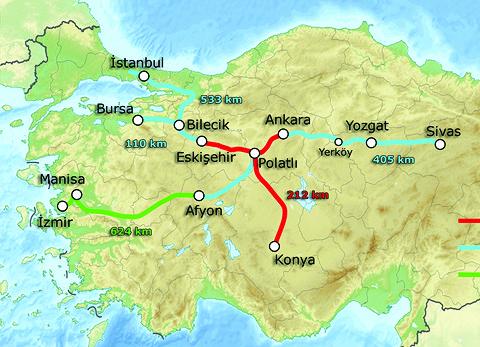 Стамбул-Анкара