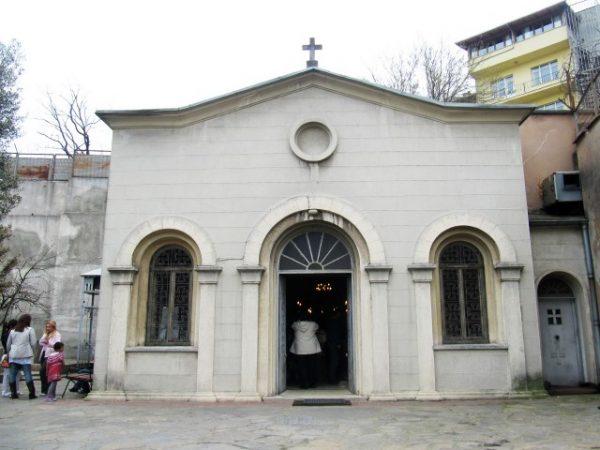 Церковь Животворящего Источника (Balıklı Meryem Ama Rum Manastırı)