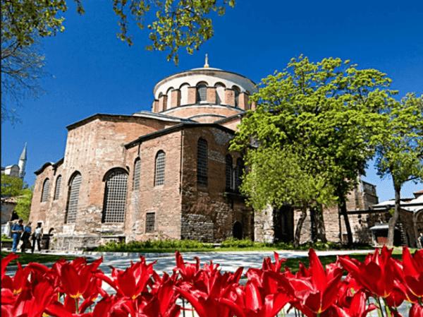 Церковь Святой Ирины (Aya İrina)