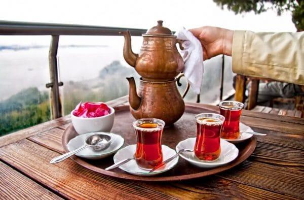 Чайная церемония в Турции
