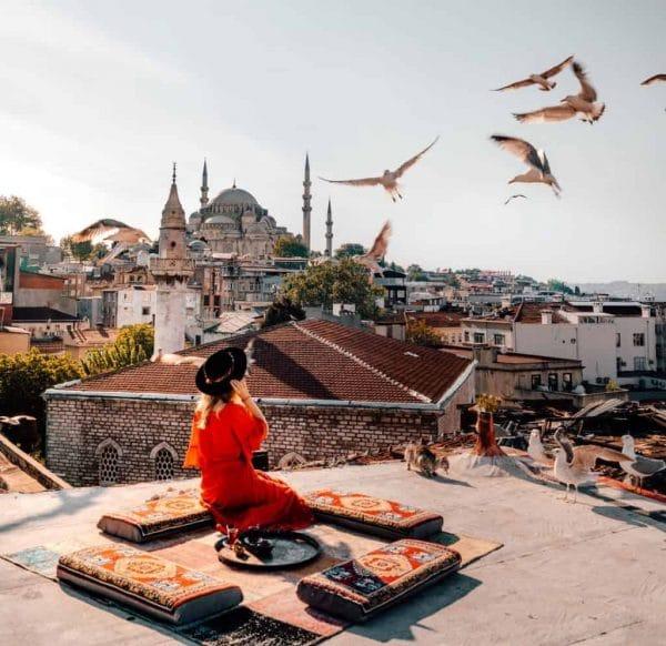 Смотровая площадка Kubbe Istanbul