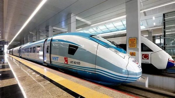 Поезд Стамбул-Анкара