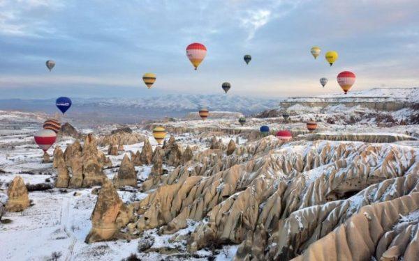 Погода в Турции в начале, середине и в конце января
