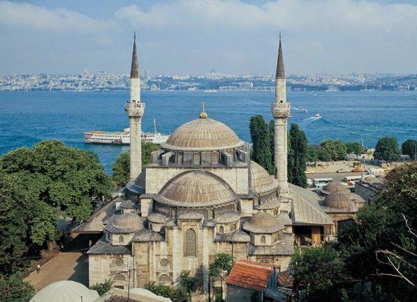 Мечеть Михримах Султан в Ускюдаре