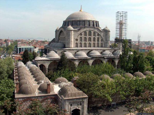 Мечеть Михримах Султан в Эдирнекапы