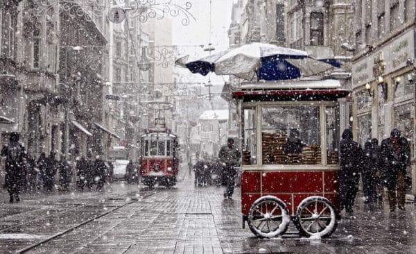 Как одеваться в Стамбуле в январе