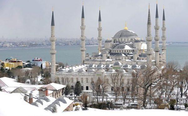 Какая погода в Стамбуле зимой