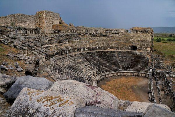 античный город Милет