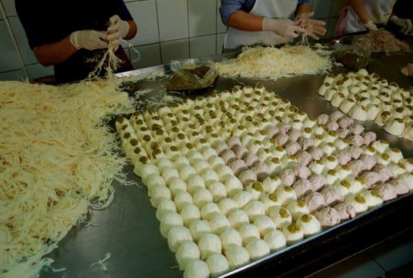 Как готовят Пишмание в Турции