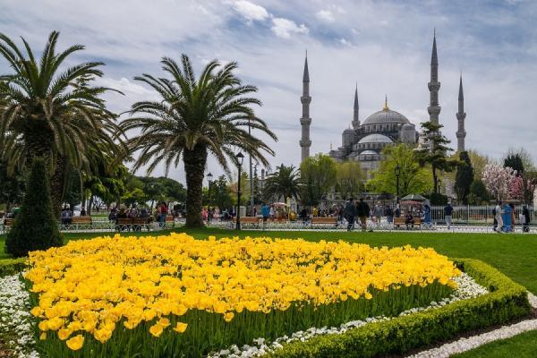 Погода в Турции в начале, середине и в конце апреля