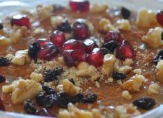 Турецкое блюдо ашура (ашуре): что это такое, из чего готовят, ингредиенты на 5 порций, пошаговое приготовление