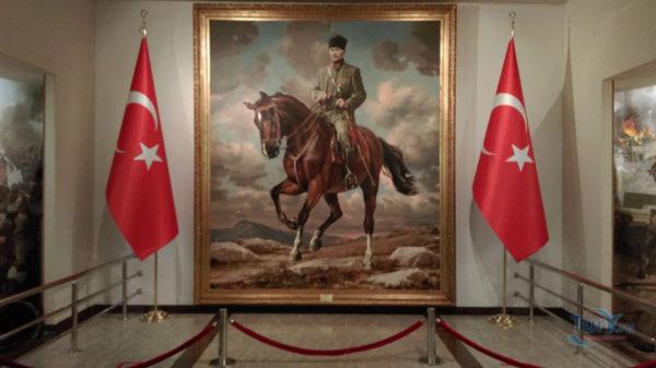 Музей Ататюрка внутри