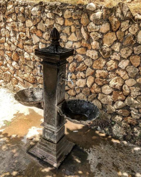 По всему зоопарку расставлены фонтанчики для питья