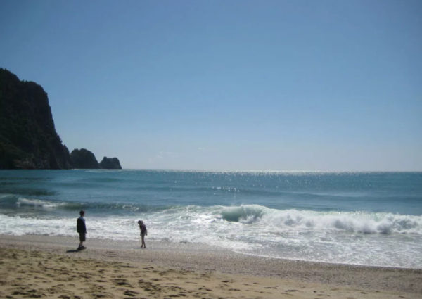 Пляж Клеопатры в марте