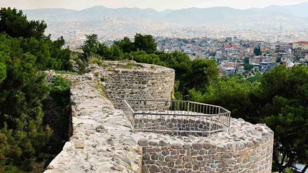 Стены крепости Кадифекале