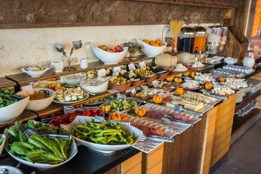 Шведский стол (Açık büfe kahvaltı )