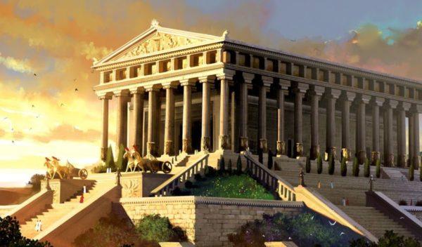 Как выглядел Храм Артемиды