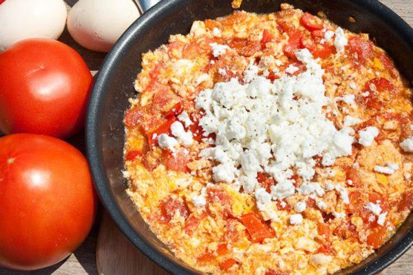 завтрак по-гречески – страпацада