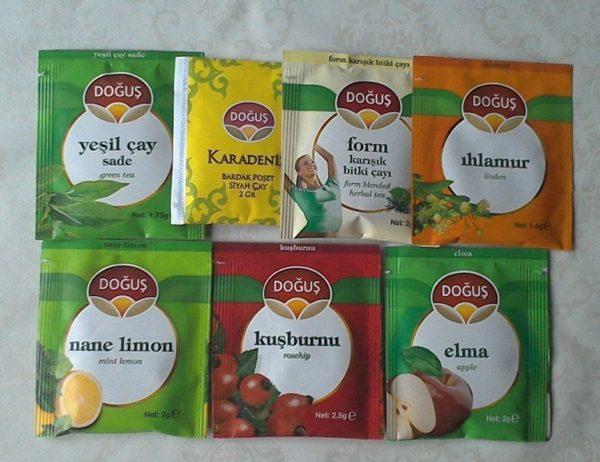 Турецкий чай Догус: виды