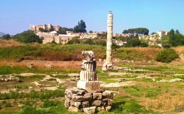 Остатки Храма Артемиды