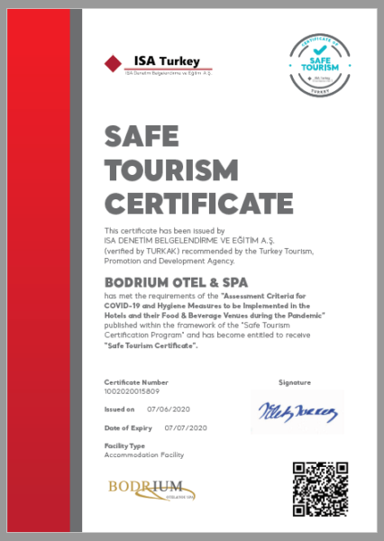 сертификат здоровья