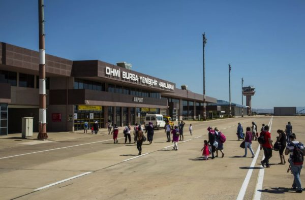 Бурса аэропорт