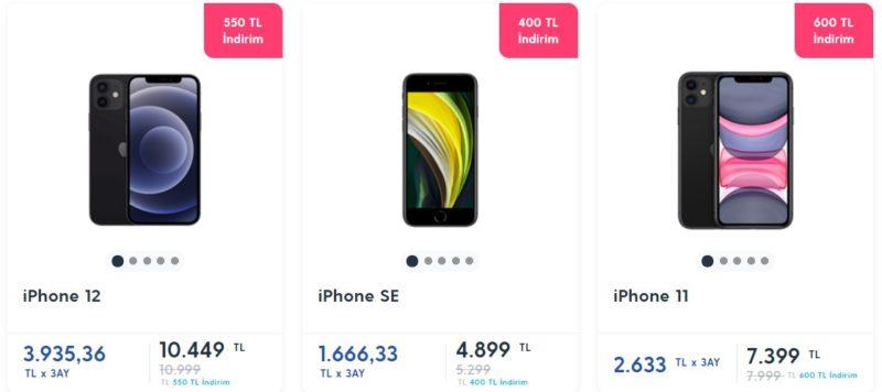 Примерные цены на Iphone в Турции